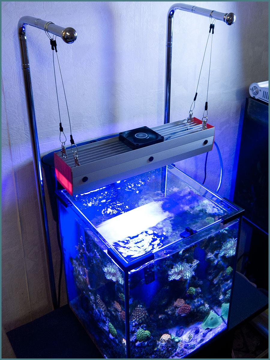 Светильник для аквариума светодиодный своими руками