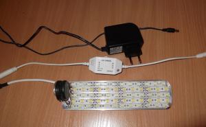 Аквариумный светодиодный светильник своими руками