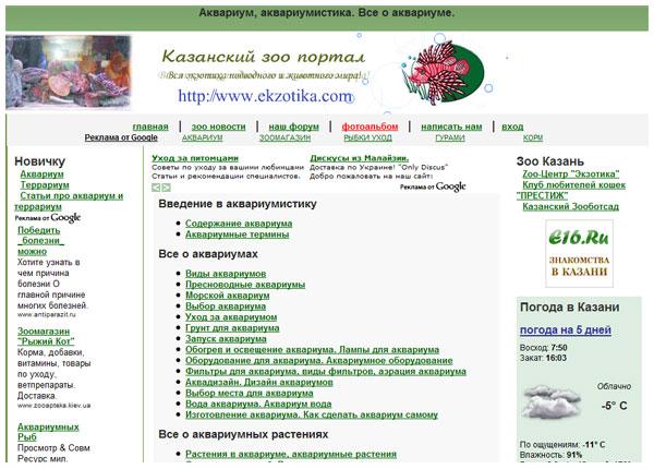 Журналист aquafanat дата 25 01 2009 посетили