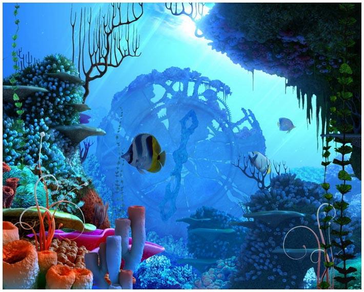 Подводный мир которая начала работу
