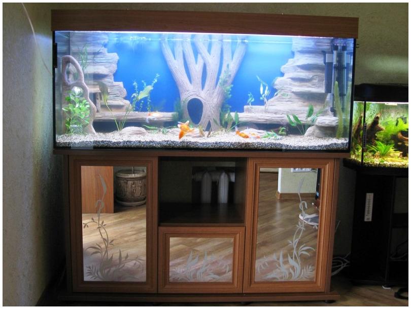 Как сделать декор на аквариум