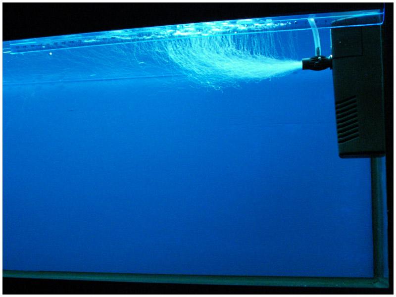 Фильтр под поверхностью воды и