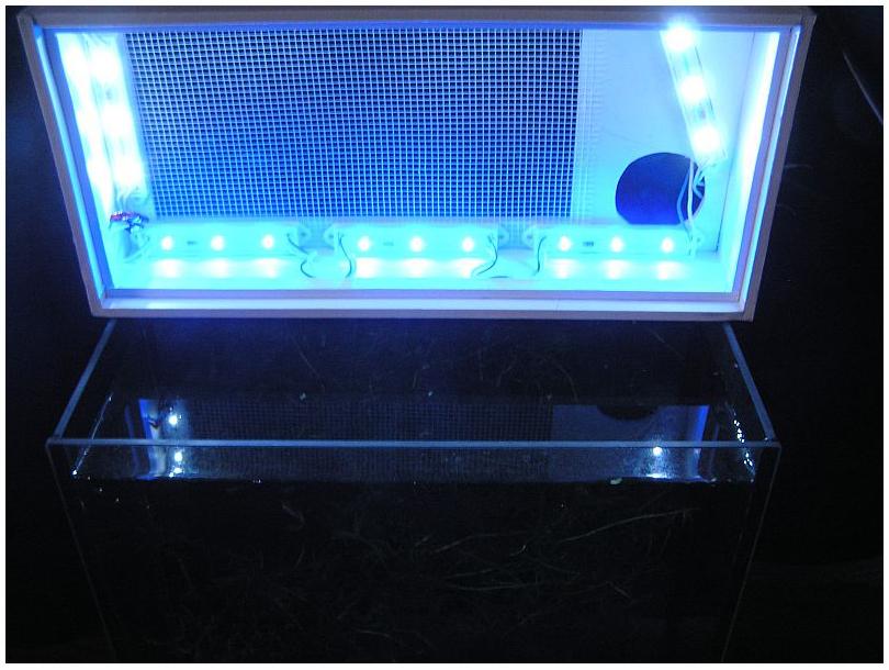 Светодиодное освещение своими руками в аквариуме