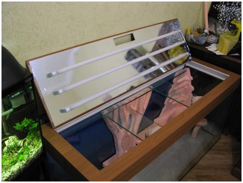 Крышка для аквариума своими руками из пвх фото 125