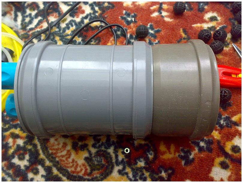 Трубы для внешнего фильтра своими руками