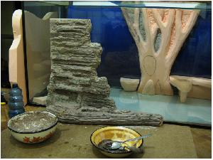 Грот в аквариум своими руками из пенопласта 80